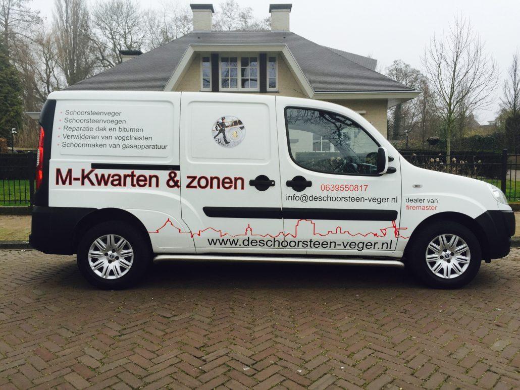 M-Kwarten en Zonen - Schoorsteenvegersbedrijf omgeving Den Haag